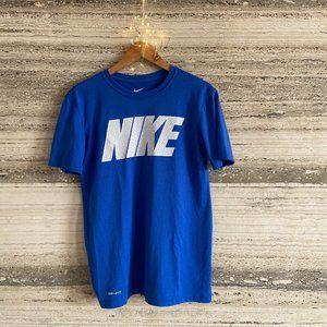 Nike Tee-Shirt Electric Blue Men Size S